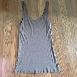 Mossimo size small brown tank top